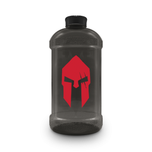 Waterbottles 2200ml Spartan Black - Gods Rage
