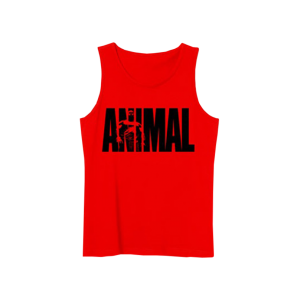 Animal Tank Top Red - Universal Nutrition